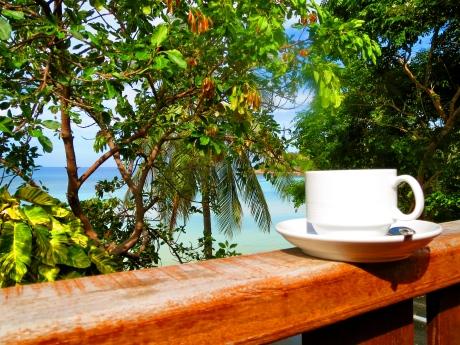 Balcony in Ko Tao, Thailand