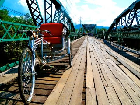Pai Bridge, Thailand